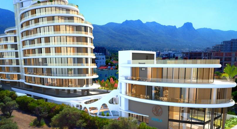 3+1 LUXURIOUS APARTMENT IN KYRENIA CENTER