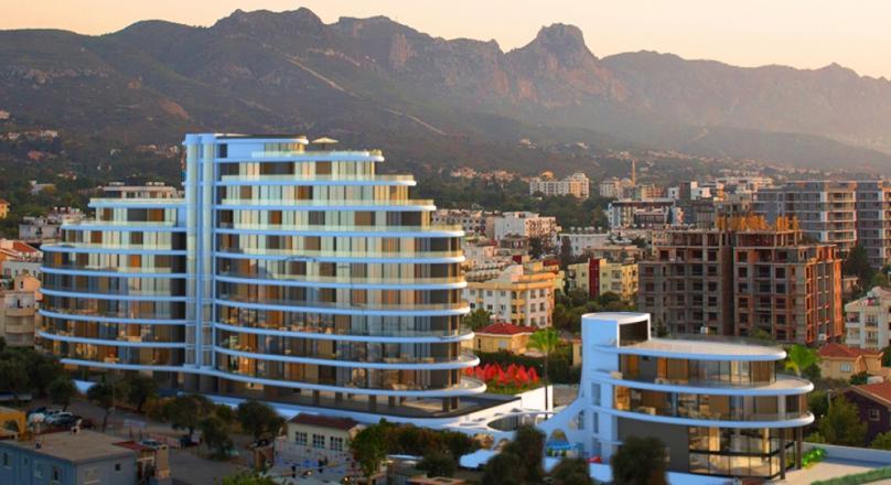 1+1 APARTMENT IN KYRENIA CITY CENTER